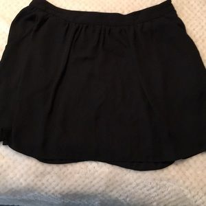 Express Black Skirt with Pockets Skirt Size 10